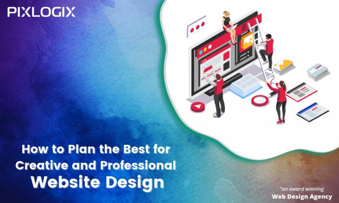 Creative and Professional Website Design