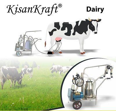 Milking machine and other dairy farming machines - KisanKraft