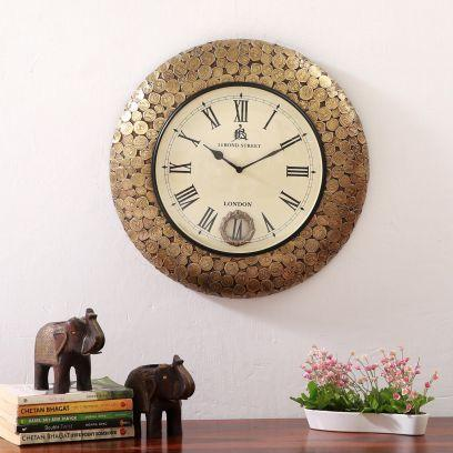 Clocks @Upto 55% OFF: Buy Big Clock Online at Best Prices- Wooden Street