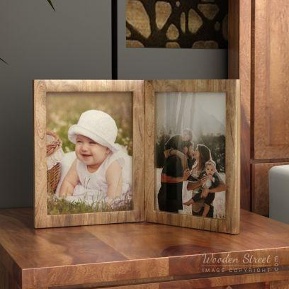 Offers and sale on photo frames from WoodenStreet in India