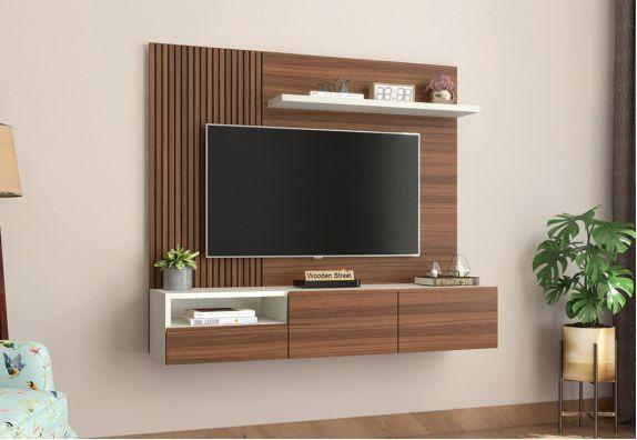 30+ TV Panel Designs Online: Explore Latest LED Panel Design 2021| Wooden Street