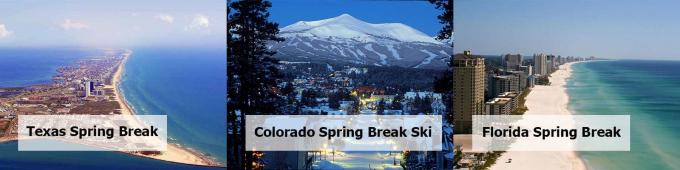 Spring Break Trips