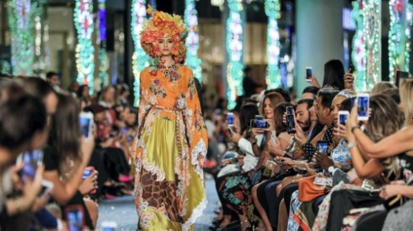 Designs of Dolce and Gabbana's in Dubai Was Modest and Chic