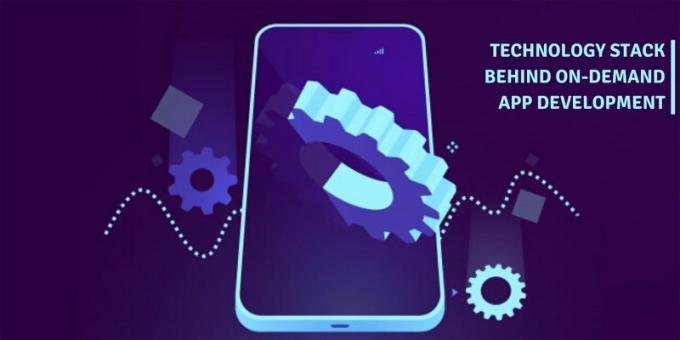 Technology stack behind on demand app development