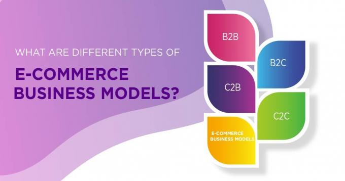 What are the Different Types of Ecommerce Business Models?