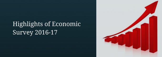Highlights of Economic Survey 2016-17   DealsOfLoan