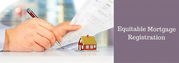 Equitable Mortgage Registration | DealsOfLoan