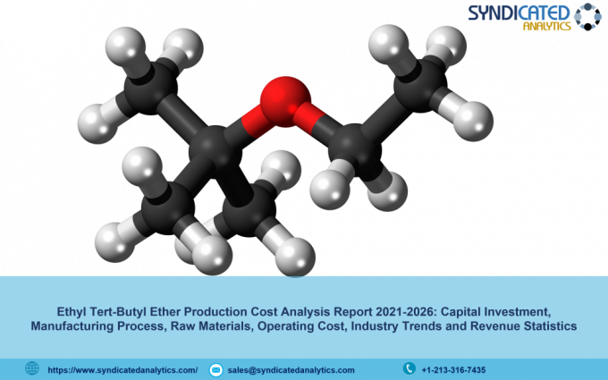 Ethyl Tert-Butyl Ether Production Cost Analysis Report 2021, Price Trends, Raw Materials Costs, Profit Margins, Land and Construction Costs 2026 | Syndicated Analytics - The Market Writeuo