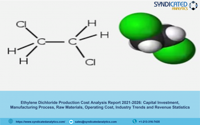 Ethylene Dichloride Production Cost Analysis Report 2021, Price Trends, Raw Materials Costs, Profit Margins, Land and Construction Costs 2026 | Syndicated Analytics – The Manomet Current