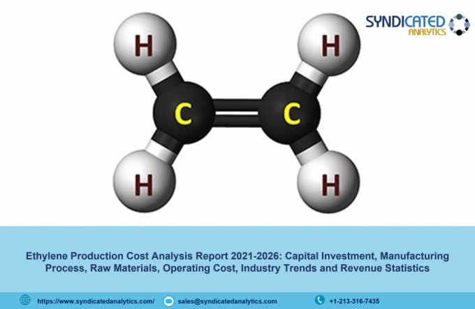 Ethylene Production Cost, Price Trend Analysis 2021: Profit Margins, Raw Materials Costs, Land and Construction Costs – Syndicated Analytics - The Market Gossip