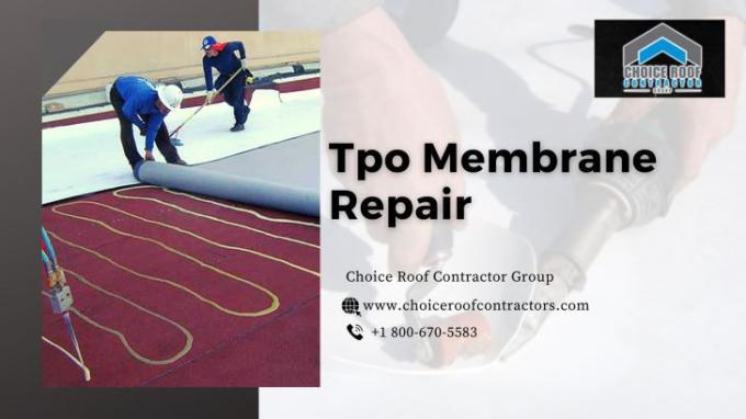 Tpo Membrane Repair