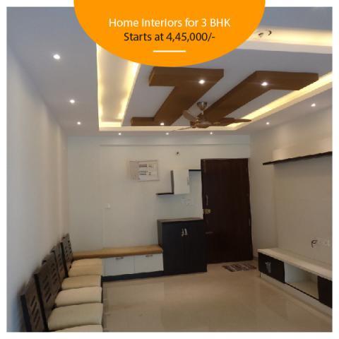 3 BHk Interior design