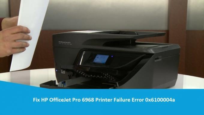 Fix HP OfficeJet Pro 6968 Printer Failure Error 0x6100004a? 18005769647