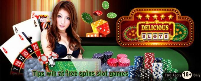 Tips win at free spins slot games