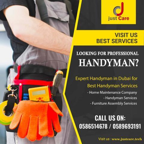 Book Home Maintenance Company in Dubai | Handyman Services