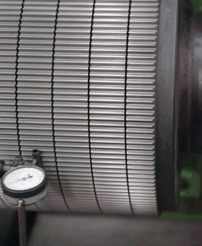 High Precision Corrugated Roller   corrugated roll manufacturer
