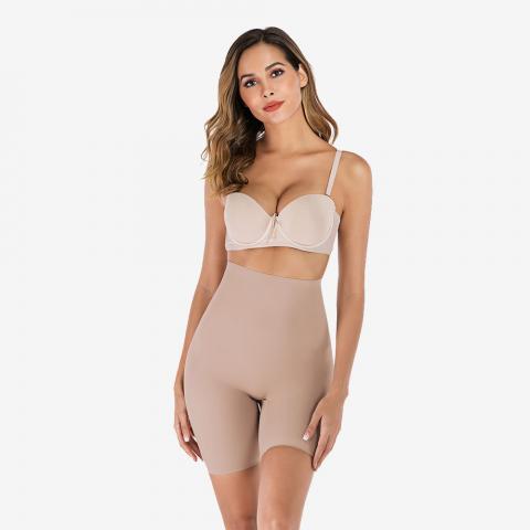 High Waist Tummy Control Seamless Shorts   Sayfutclothing