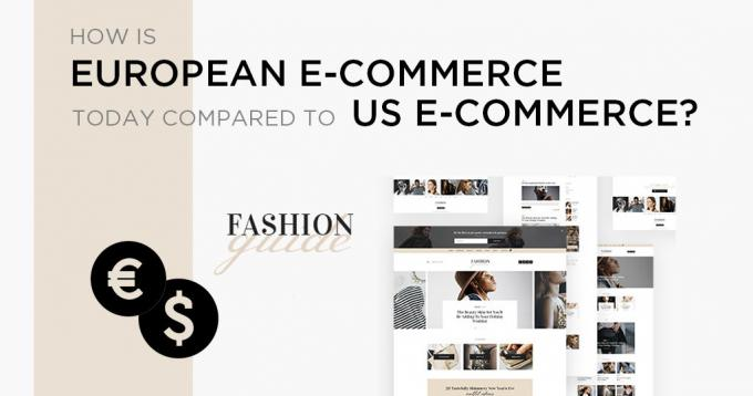 How European Ecommerce is Today Compared to US Ecommerce?
