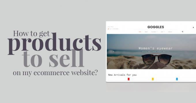 How to Get Products to Sell on my Ecommerce Website? – Guide