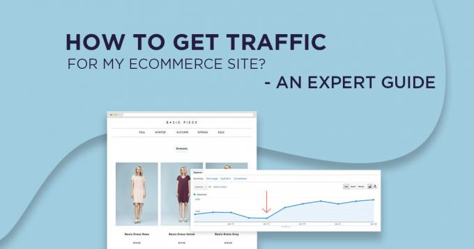How to Get Traffic for my Ecommerce Site? - An Expert Guide