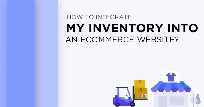 How to Integrate my Inventory into an Ecommerce Website?