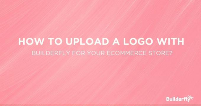 How to Upload Logo with Builderfly in your Ecommerce Store?
