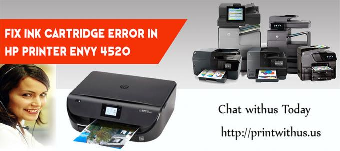 How do I fix Ink Cartridge Error in HP Envy 4520 Printer?