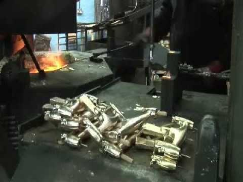 The Production Processes Of Making A Faucet