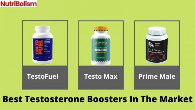 3 Best Testosterone Booster Review 2021[Discover Now]