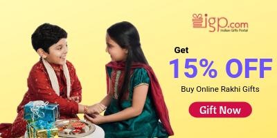Buy online Rakhi Gifts at IGP