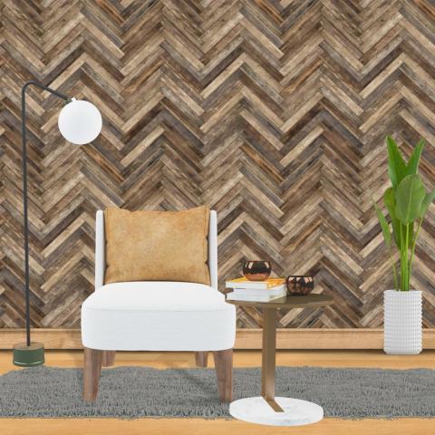 Herringbone Shiplap Chevron Wallpaper Traditional Non woven   Etsy
