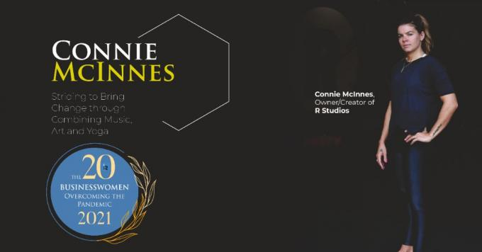 Connie McInnes: Striding to Bring Change through Combining Music, Art and Yoga - InsightsSuccess