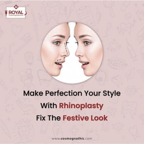 Nose Job Surgery | Rhinoplasty In Mumbai, India | Royal Cosmognathic