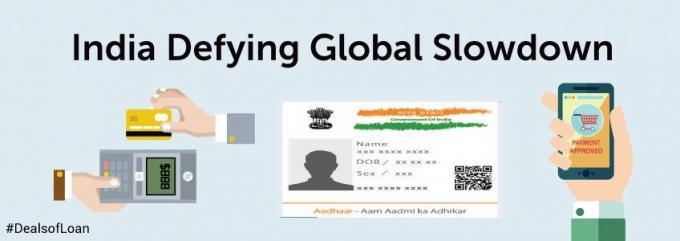 India Defying Global Slowdown   DealsOfLoan