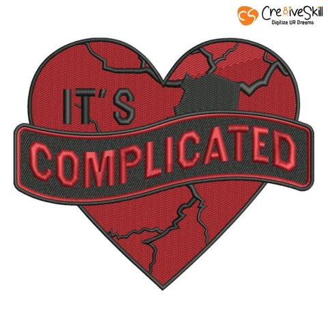 Embroidery Design It's Complicated