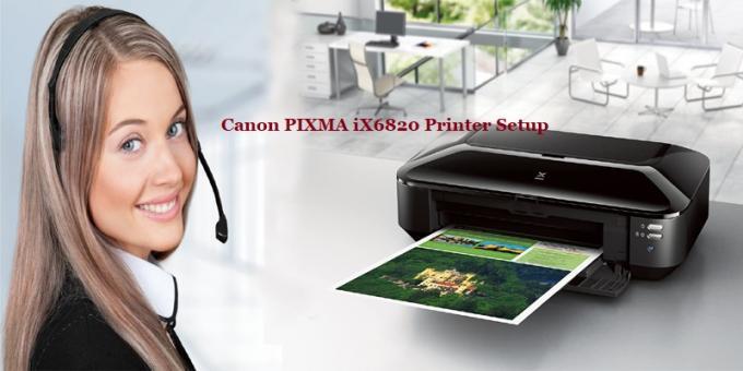 Canon PIXMA iX6820 Printer Setup & Driver Download