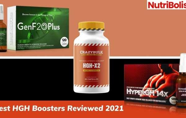 Top 3 HGH Boosters Reviewed – GenF20 Plus, HyperGH 14x & HGH X2