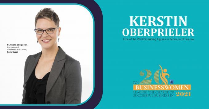 Dr. Kerstin Oberprieler: One of the World's Leading Figures in Behavioural Science - InsightsSuccess