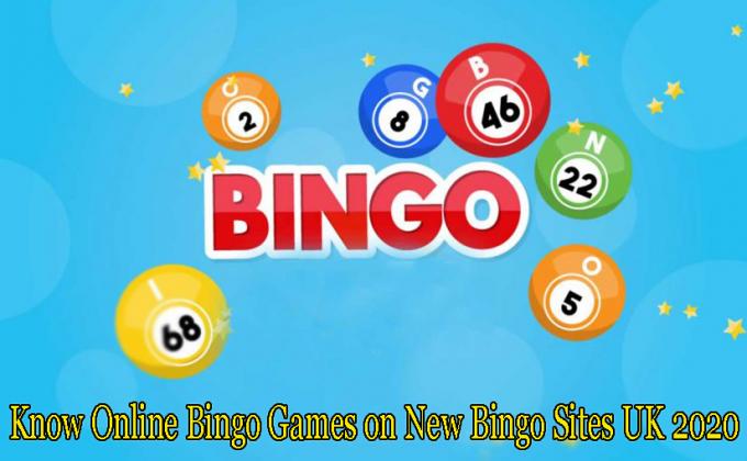Know Online Bingo Games on New Bingo Sites UK 2020 – Lady Love Bingo