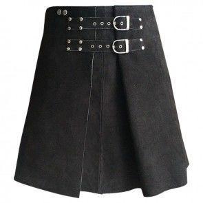 Leather Kilts for sale | 100% Genuine Leather Kilts for Men