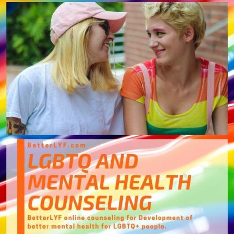 LGBTQ counseling and therapy