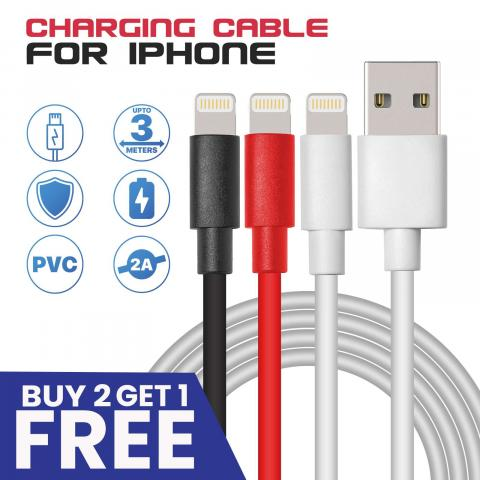 Lightning PVC Charger Cable | Mobile Accessories UK
