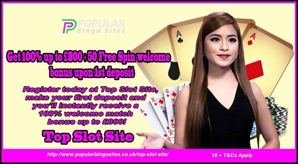 The UK Slot Sites with Deposit Bonus Gambling G... - Popular Bingo - Quora