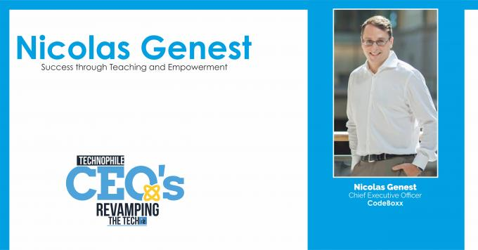 Nicolas Genest: Success through Teaching and Empowerment