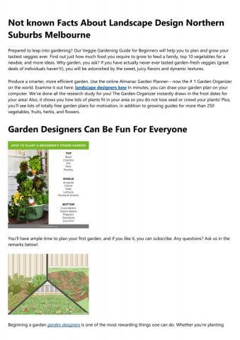 Landscape Designers Ivanhoe
