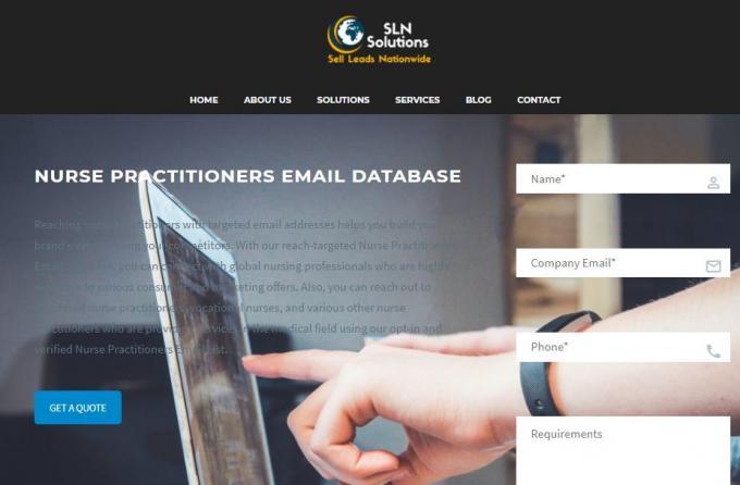nurse practitioners database