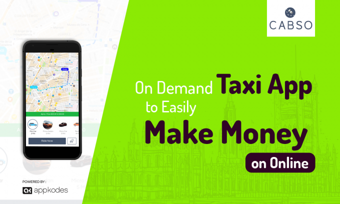 Taxi Booking App Script - CABSO: On Demand Taxi App To Easily Make Money On Online