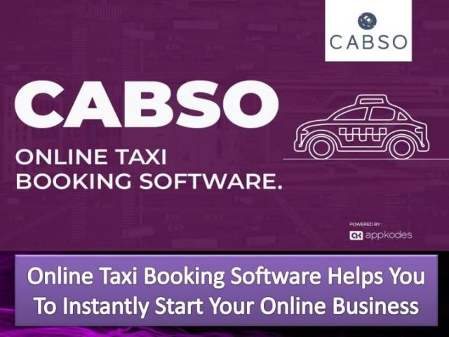 PPT - Online Taxi Booking Software Helps You To Instantly Start Your Online Business PowerPoint Presentation - ID:7938909