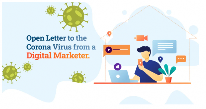 Open Letter To The Corona Virus From A Digital Marketer   DigiChefs