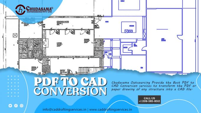 PDF to CAD Conversion | PDF to AutoCAD Drawing Services